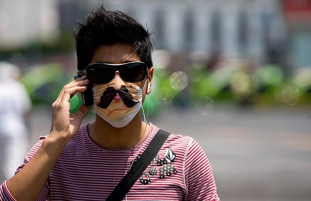 Свиной грипп в Мексике Хирургические маски