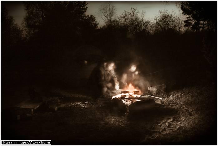 Ночь у костра в Сказочном лесу