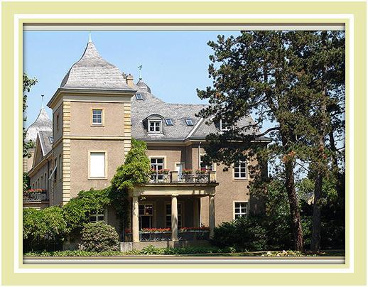 Schloss Garath (Гарат) на юге Дюссельдорфа