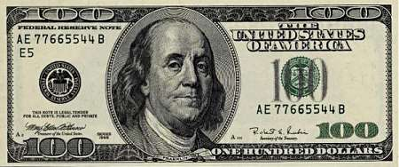100 долларов