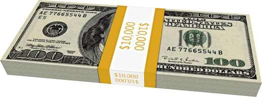 10 тысяч долларов