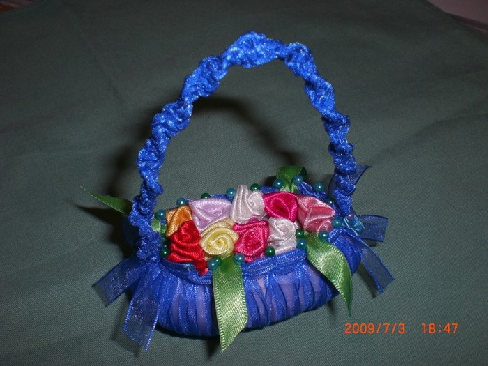 """basket of roses"" tutorial"