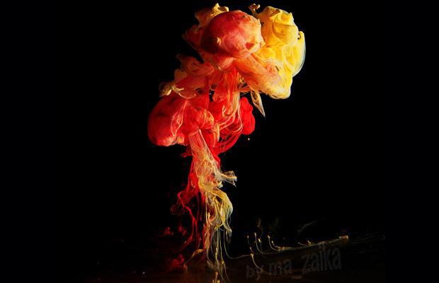 Капля краски от Марка Муасона