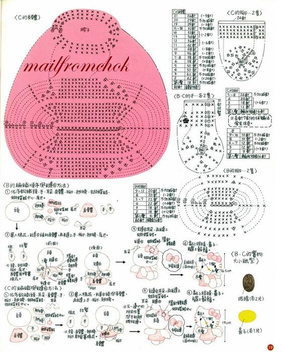 ^_^ Ниже — схема для вязания