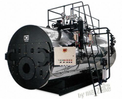 Паровой котел серии GX с тремя полными оборотами уходящих газов