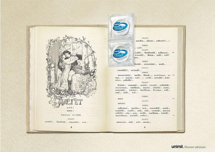 Презервативы. Красивая реклама