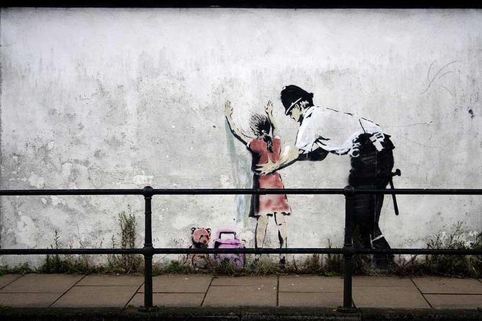 iskusstvo  Фотопост: граффити от Banksy