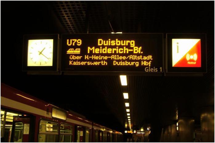 """Фото-экскурсия """"Подземный транспорт города Дюссельдорфа"""", автор: Татьяна*Schön"""