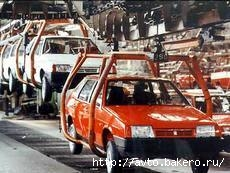 Производство легковых авто в России упало на 60% Фото с сайта autogazeta.com