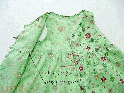 простое платье для девочки выкройка