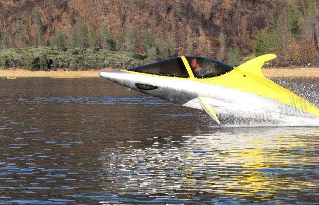 Дельфинообразная подводная лодка