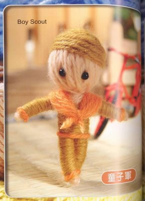 dolls made of yarn