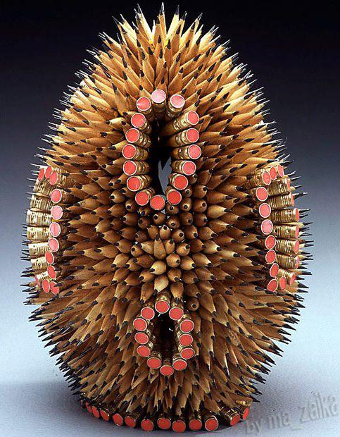 скульптуры из карандаша
