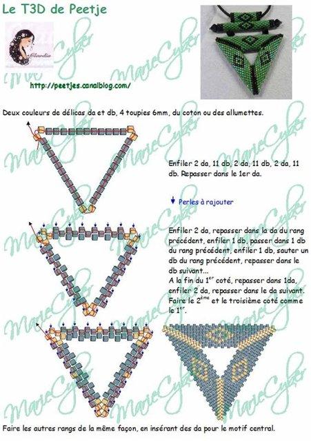 Схема кулона-треугольника.