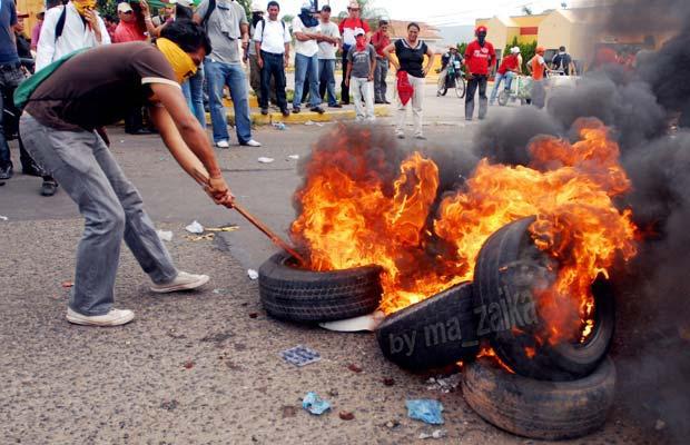инцинденты в Гондурасе