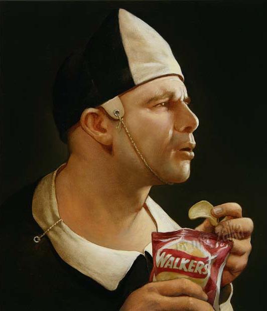 Классические портреты с современным твистом