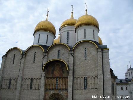 Успенский собор Московского Кремля Фото с сайта zaitsev.cn Дмитрий Зайцев