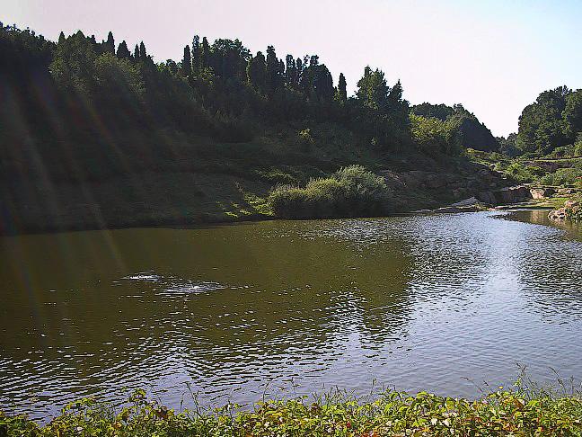 Умань. Софиевский парк. Озеро