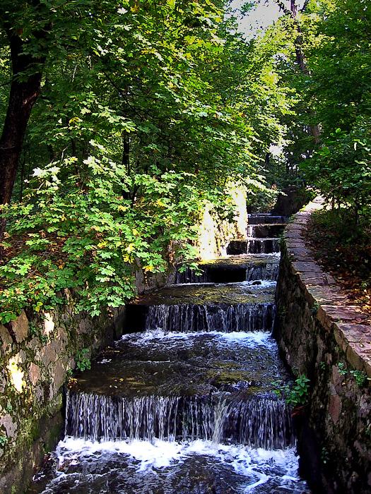 Умань. Софиевский парк. Черный ручей