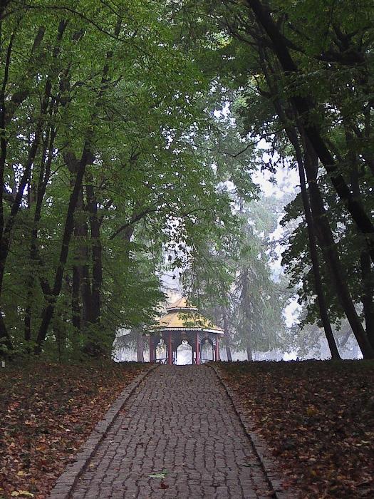 Умань. Софиевский парк. Аллея, ведущая к Китайской Альтанке