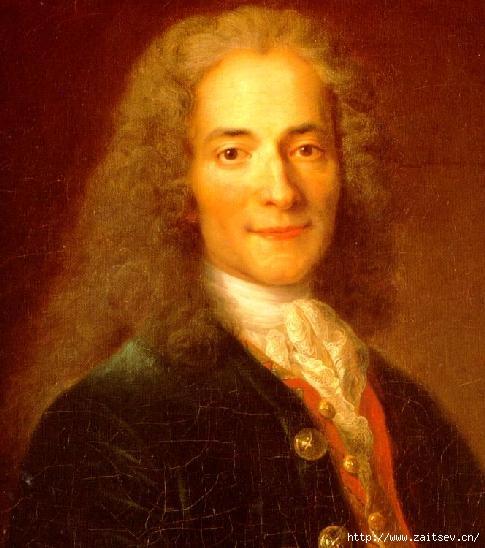 Вольтер Франсуа-Мари Аруэ французский философ С сайта zaitsev.cn Дмитрий Зайцев