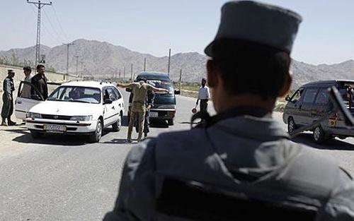 Обыск у избирательного участка в Кабуле, Афганистан