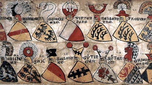 гербы средневековья