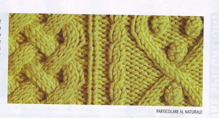 cardigan pattern: yellow jacket-vest