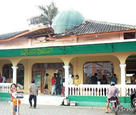 Подводное землетрясение, Индонезия