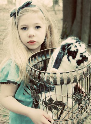 Alice_and_her_rabbit_by_MollyJoy (300x407, 37Kb)