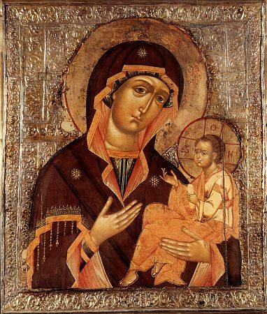 Грузинская икона Божией Матери (382x450, 66Kb)