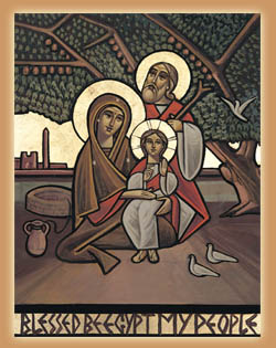 Христос в Египте