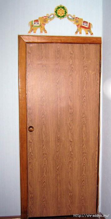 дверь роспись