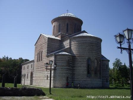 Пицунда Пицундский храм Абхазия Отдых в Абхазии visit.abkhazia.su