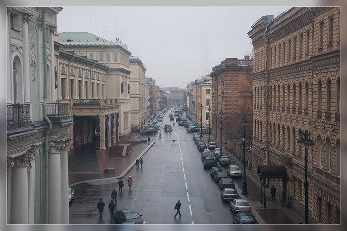 петербург, зима