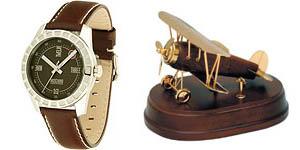 часы и самолёт