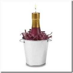 Свеча - шампанское