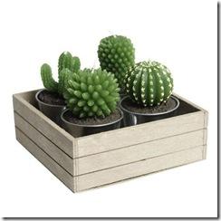 Свечи - кактусы