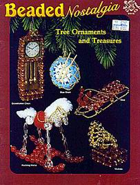 Beaded nostalgia Tree ornaments and treasures