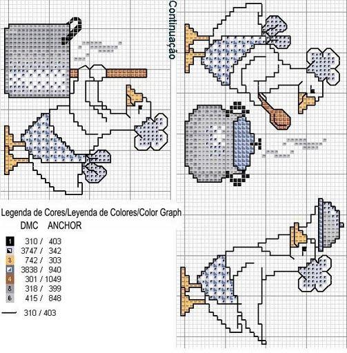 Схема для вышивки полотенец