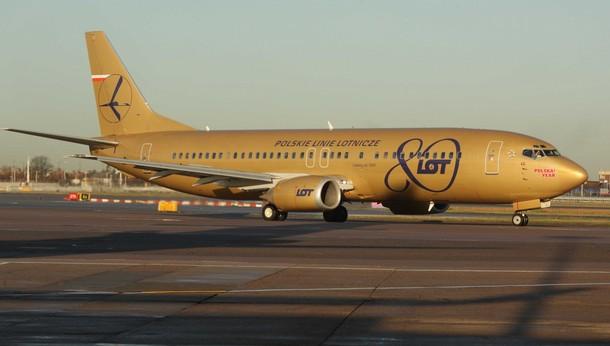 Гастроли по миру на золотом самолете: Pavel Althamer c 10 декабря 2009 года в Лондоне.