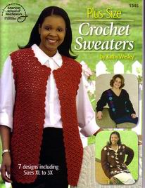 Plus-Size Crochet Sweaters