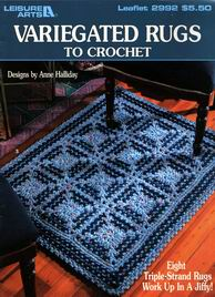 Variegated Rugs to Crochet