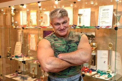 Российский спортсмен и шоумен Владимир Турчинский