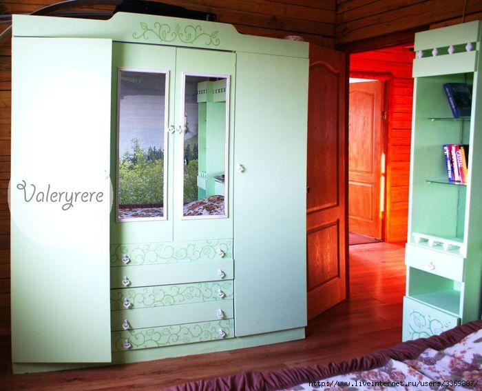 роспись мебели, реставрация мебели