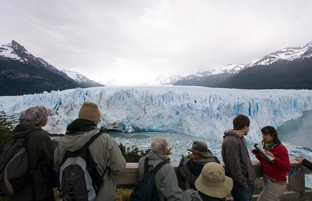 Перито-Морено в Лос Гласиарес, Патагония, Аргентина.