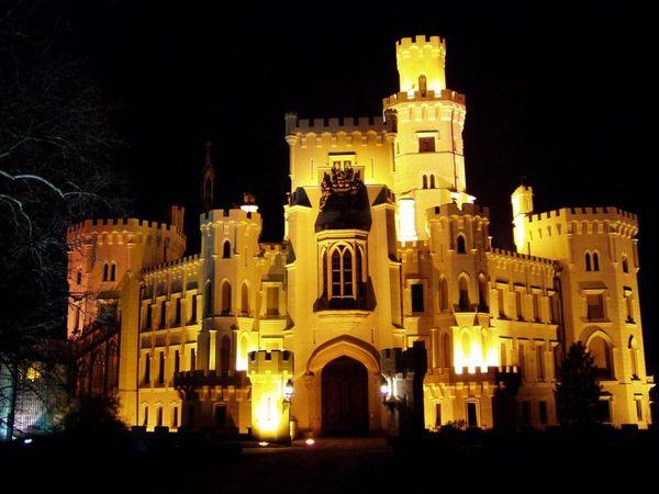 Замок Глубока над Влтавой (The Hluboka Castle) 75979
