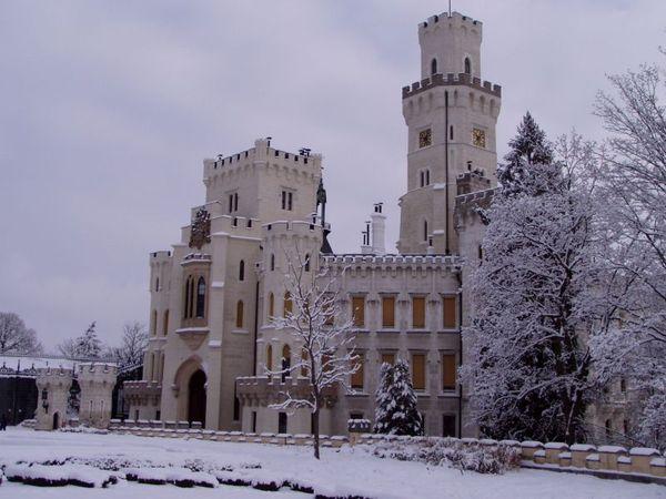 Замок Глубока над Влтавой (The Hluboka Castle) 25637