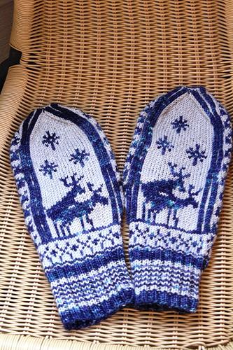 Метки: вязание спицами варежки