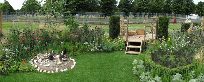 Сады шести жён Генриха VIII в Хэмптон-корте 84962